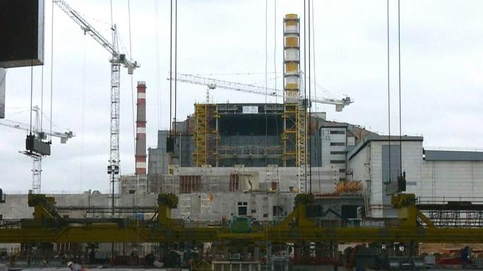 Chernobyl nuclear disaster site sealed with massive steel shield