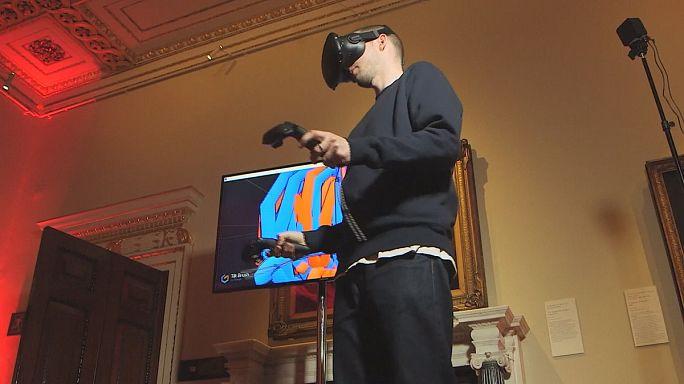 Arte na realidade virtual: Experiências pioneiras na Academia Real Inglesa