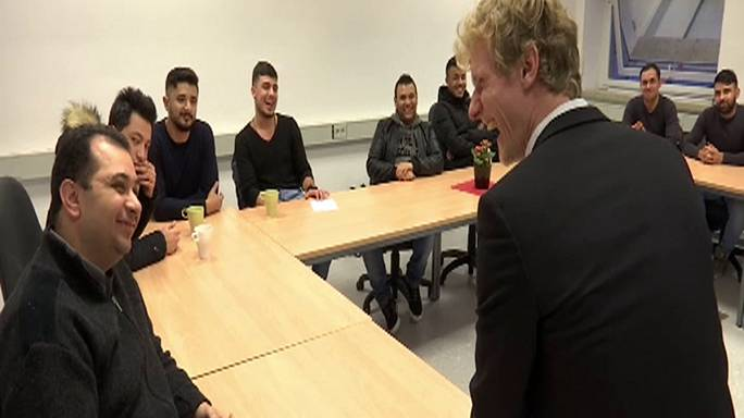 'Mr. Flirt' teaches new migrants how to approach women in Germany