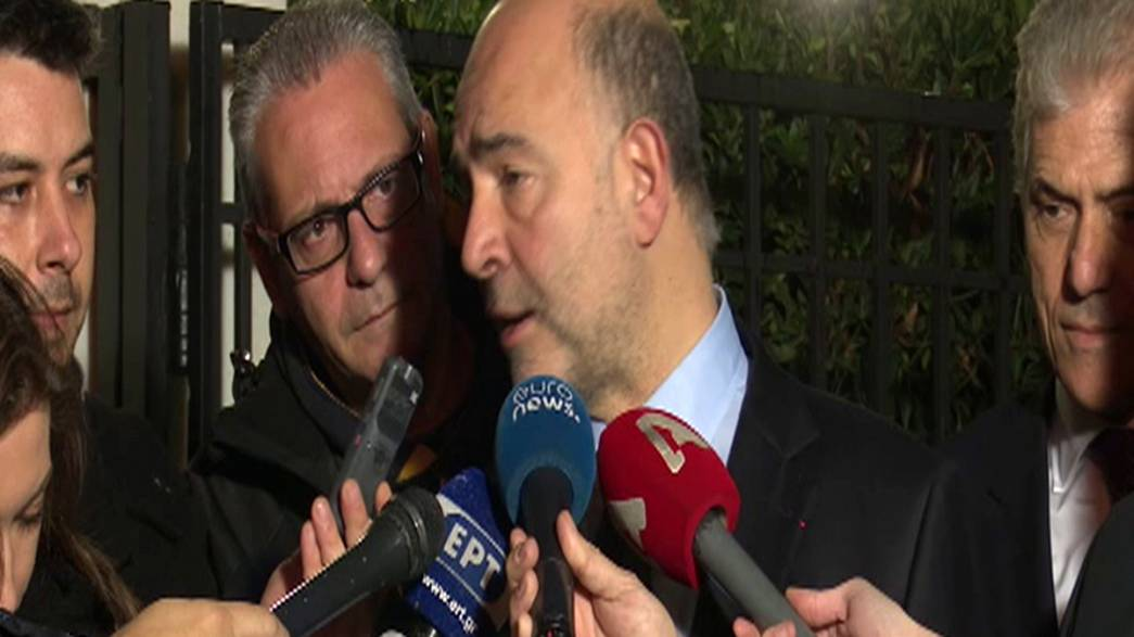 """La Grèce et ses créanciers """"tout proches"""" d'un accord (Moscovici)"""