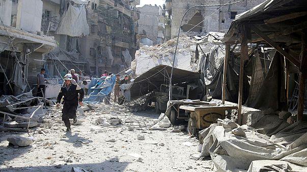 Halep'te büyük kaçış