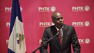 Businessman Moise wins Haiti election first round provisional results