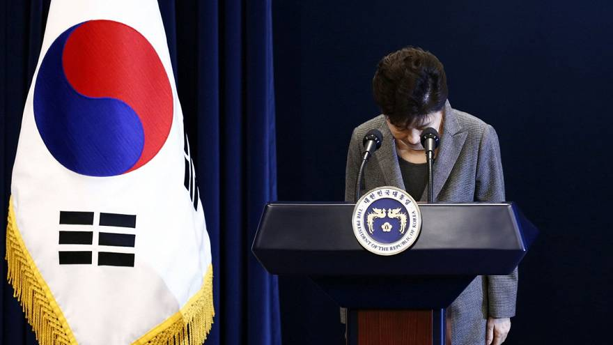 La presidenta surcoreana dice estar lista para dejar el poder
