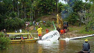 Colombie : un avion s'écrase avec 81 personnes à bord, dont des footballeurs brésiliens