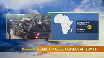 Aftermath of clashes in Kasese, Uganda