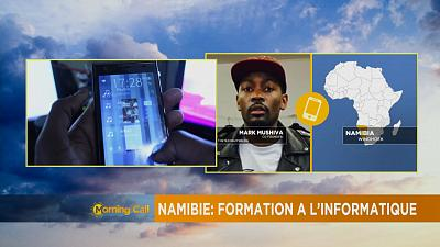 Namibie: formation à l'informatique