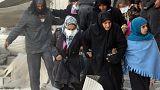 Miles de desplazados en el este de Alepo por el avance del Ejército sirio