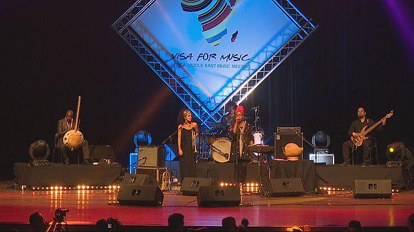 Músicos guineenses brilham em Rabat