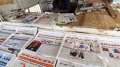 Four Sudanese print media raided, TV channel shutdown
