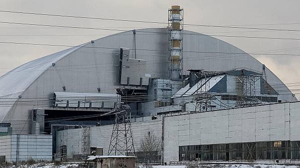 انتهاء اعمال بناء غطاء عازل جديد لمفاعل تشيرنوبل