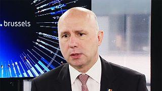 Moldávia vai continuar pró-europeia, garante Pavel Filip em Bruxelas