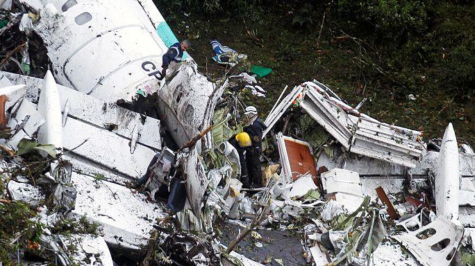 Brezilya takımının uçağı Kolombiya'da düştü: 71 ölü