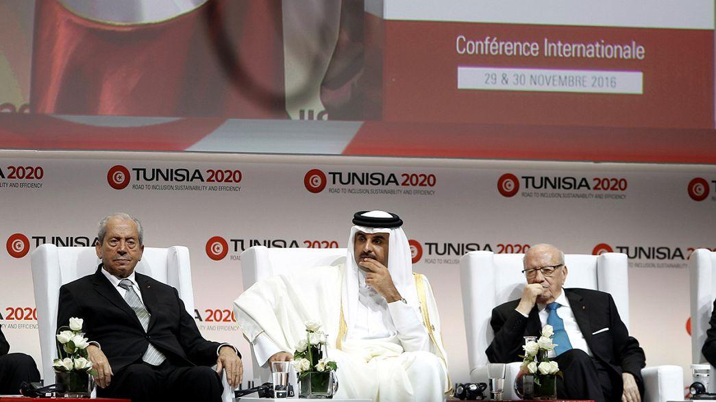 La Tunisie engrange les promesses de dons