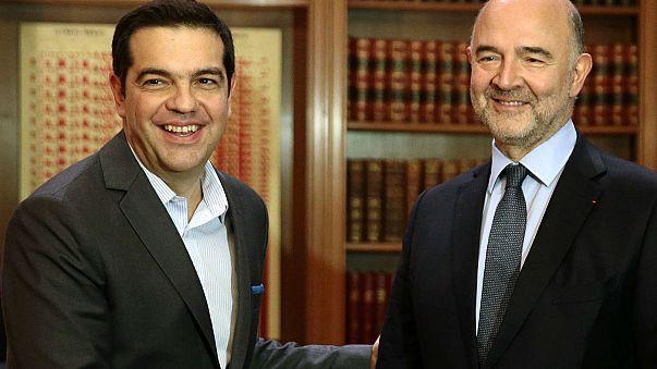 """Pierre Moscovici: Acordo sobre a dívida grega """"exequível"""" até ao final do ano"""