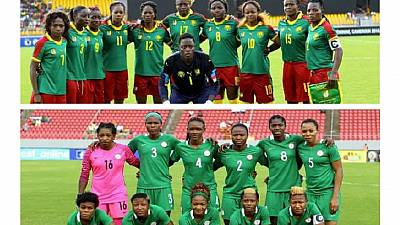 Nigeria's Super Falcons battle South Africa's Banyana Banyana