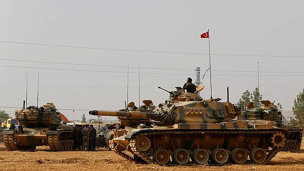 Two Turkish soldiers go missing in Syria