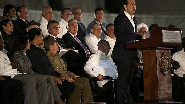 Αλ.Τσίπρας: «Αποχαιρετούμε τον Φιντέλ των φτωχών, των καταπιεσμένων, των ανυπότακτων»