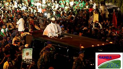 No demonstrations after elections - Gambia's Jammeh orders