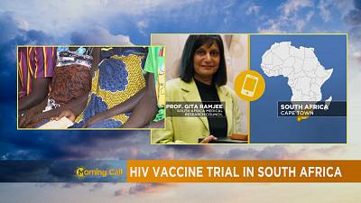 HIV vaccine trial in South Africa [The Morning Call]