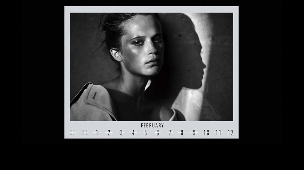 Pirelli calender less make-up and subtle sexuality