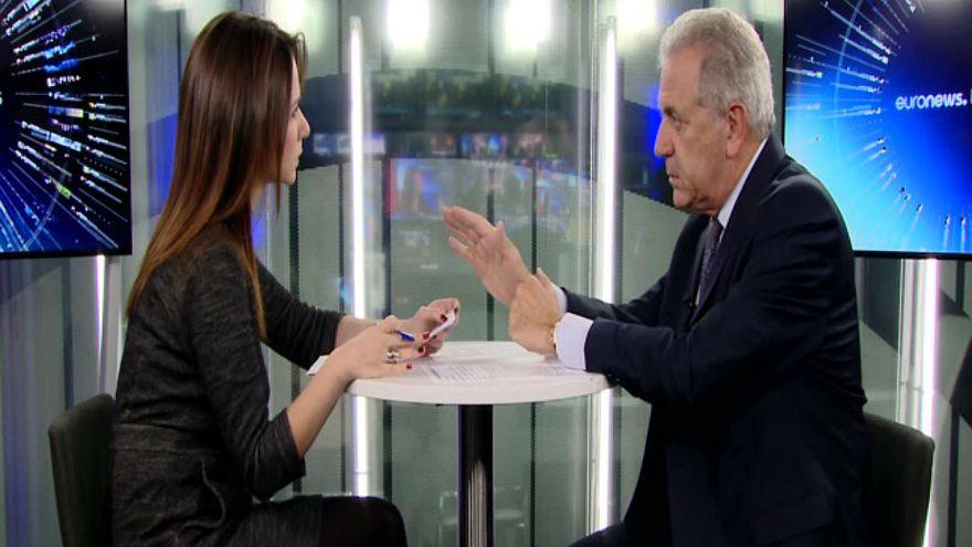 """Avramopoulos a euronews: """"come europei abbiamo bisogno di una Turchia stabile"""""""