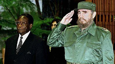 Mugabe praises Castro – 'He was leader of all revolutionaries'