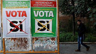 الخلفية الاقتصادية لاستفتاء إيطاليا