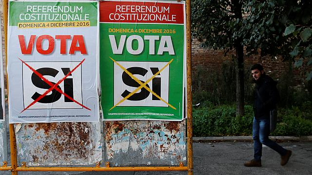 Un referéndum en Italia de consecuencias económicas
