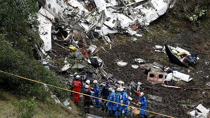 Kolombiya'da düşen uçağın kara kutularını bulmak için Brezilya'dan uzman bir ekip geldi