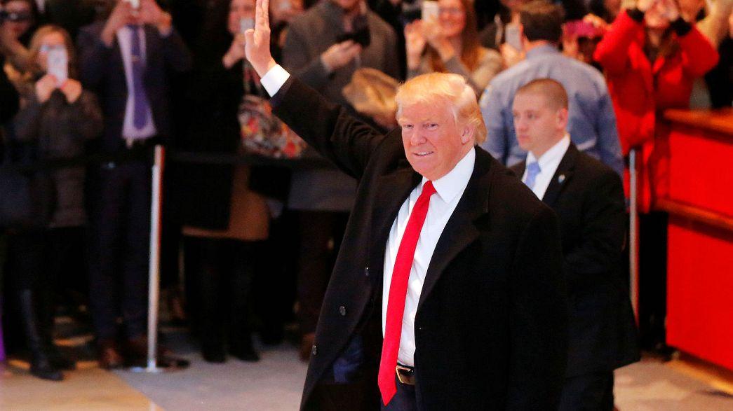Trump, şirketleriyle ilişiğini keseceğini açıkladı