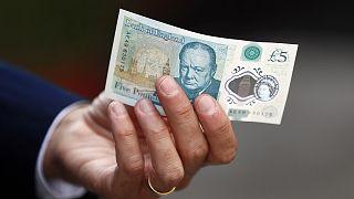 Les végétariens britanniques réclament le retrait du nouveau billet de 5£