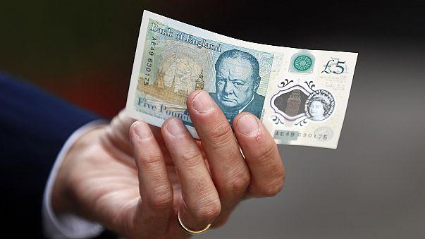 İngiltere'de plastik 5 Sterlin banknotlara 'vejeteryan' ayarı