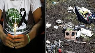 Football air crash - leaked tape shows plane 'ran out of fuel'