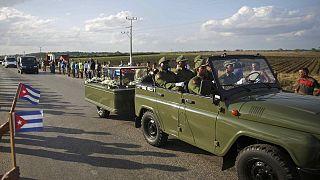 Kubaner nehmen Abschied von Fidel Castro