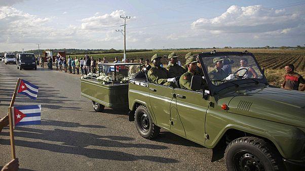 Ξεκίνησε η διαδικασία μεταφοράς της τέφρας του Κάστρο στο Σαντιάγκο ντε Κούβα