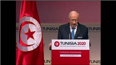Regional partners pledge billions in help for Tunisia