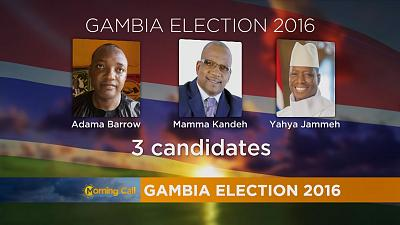 The Gambia votes amid phones and internet shutdown