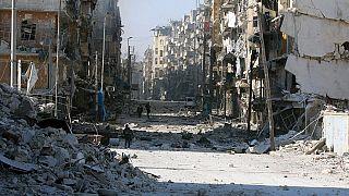 Syrie : Alep, cimetière à ciel ouvert