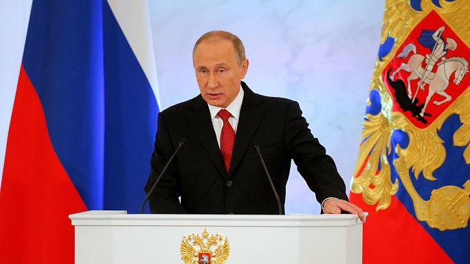 Putyin elnök: Nem keresünk ellenséget