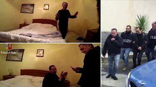 """İtalya'da """"Dansçı"""" lakaplı mafya babası yakalandı"""