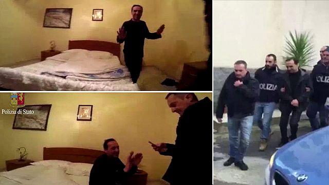 Detenido en Italia un dirigente del crimen organizado calabrés