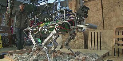 Robots que facilitan las operaciones de rescate