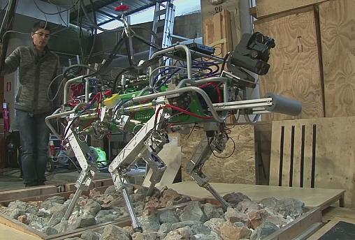 HyQ, il robot soccorritore