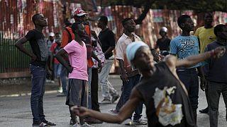 Les Haitiens manifestent contre l'élection de Jovenel Moise