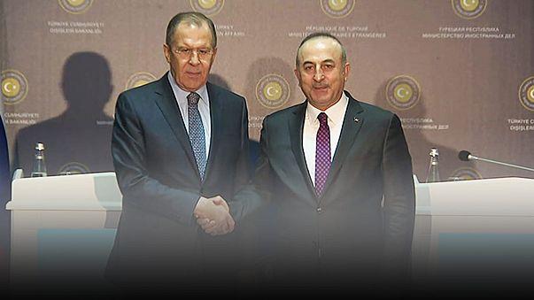 Russland und Türkei fordern Waffenruhe in Syrien