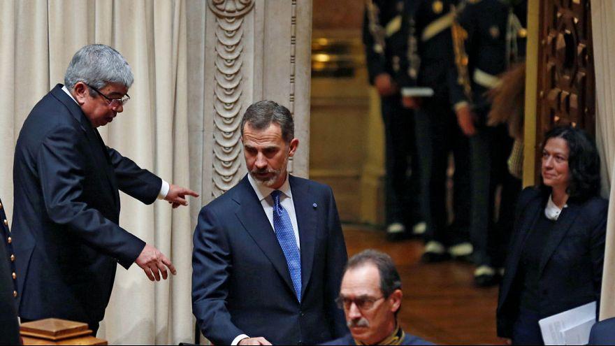 [Vídeo] Portugal: la izquierda no aplaude al rey Felipe VI en el Parlamento