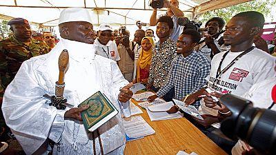 """Yahyah Jammeh """" seul Dieu peut me faire partir"""""""