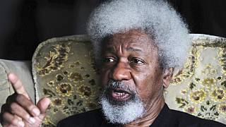 Soyinka rips green card, confirms relocation to Nigeria after Trump win