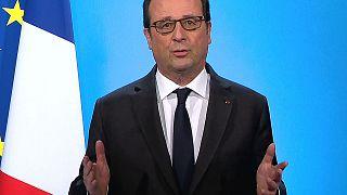 Φρανσουά Ολάντ: «Δεν θα διεκδικήσω δεύτερη θητεία»
