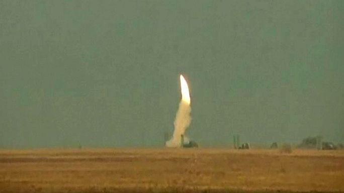 Ucrânia-Rússia: Testes de mísseis no mar negro